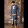 Viking Wool Coat Loki Dark Grey 1