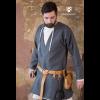 Viking Wool Coat Loki Dark Grey 2