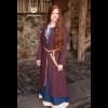 Birka Coat Siggi Burgundy Gray 1
