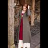 Birka Coat Siggi Olive Gray 2
