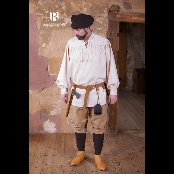 Medieval Laced Shirt Störtebecker natural 1