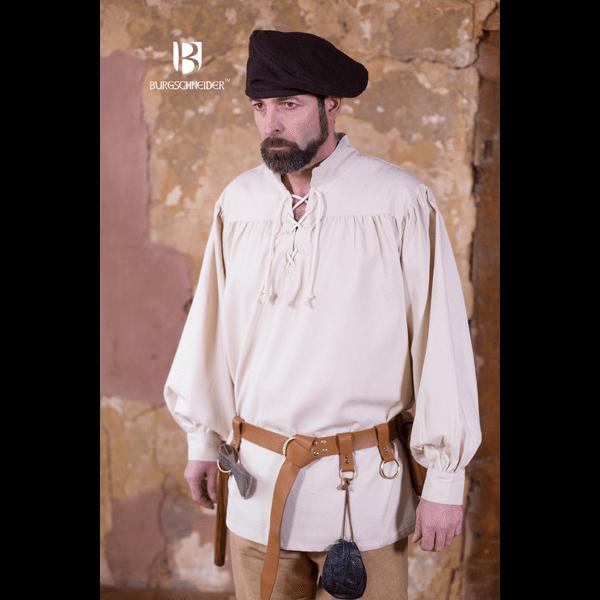Medieval Laced Shirt Störtebecker natural 2
