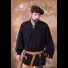 Medieval Laced Shirt Störtebecker Black 2