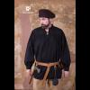 Medieval Laced Shirt Störtebecker Black 1