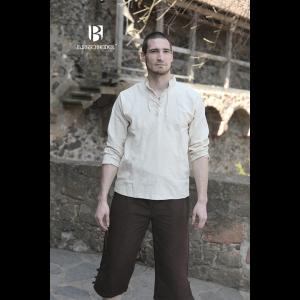 Medieval Shirt Tristan Natural 1