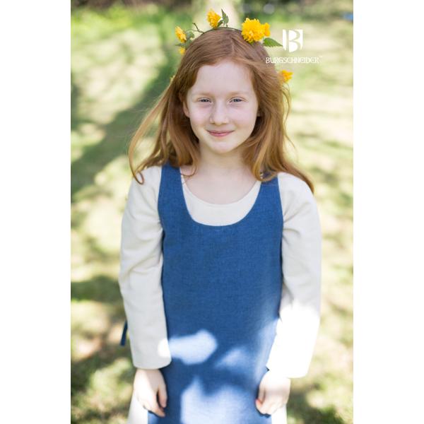 Medieval Childs Dress Ylva Ocean Blue 2