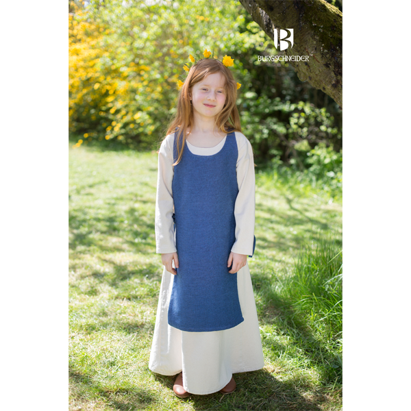 Medieval Childs Dress Ylva Ocean Blue 3