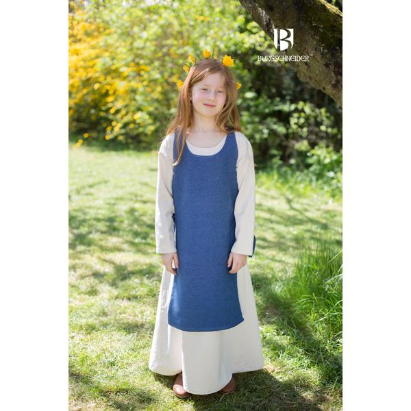 Medieval Childs Dress Ylva Ocean Blue 3