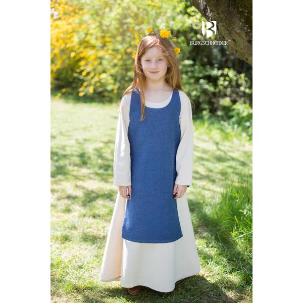 Medieval Childs Dress Ylva Ocean Blue 1