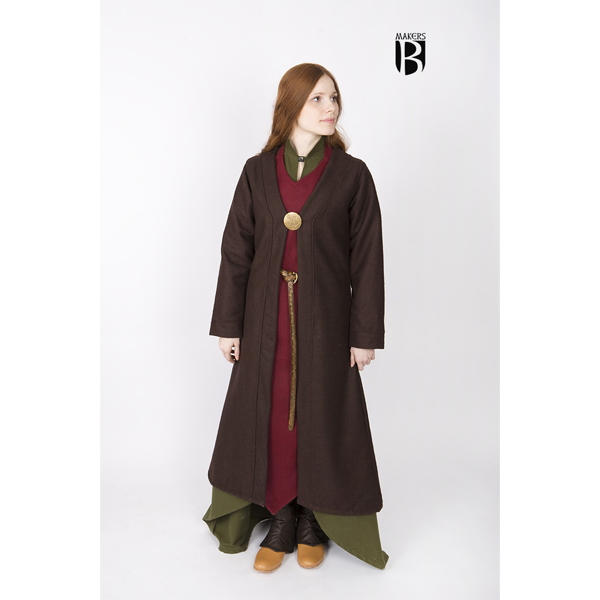 Birka Coat Aslaug Brown 1