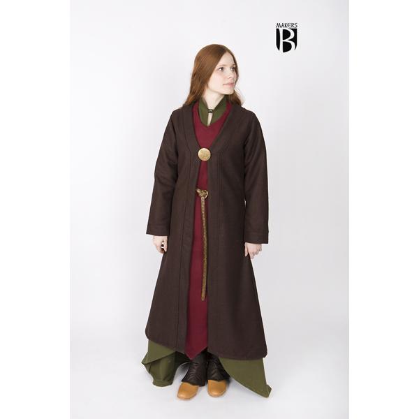 Birka Coat Aslaug Brown 1