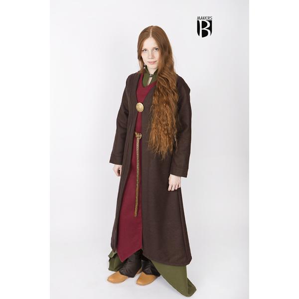 Birka Coat Aslaug Brown 2