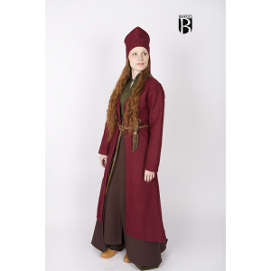 Birka Coat Aslaug Red 1
