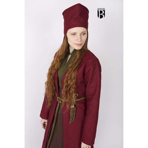 Birka Coat Aslaug Red 2