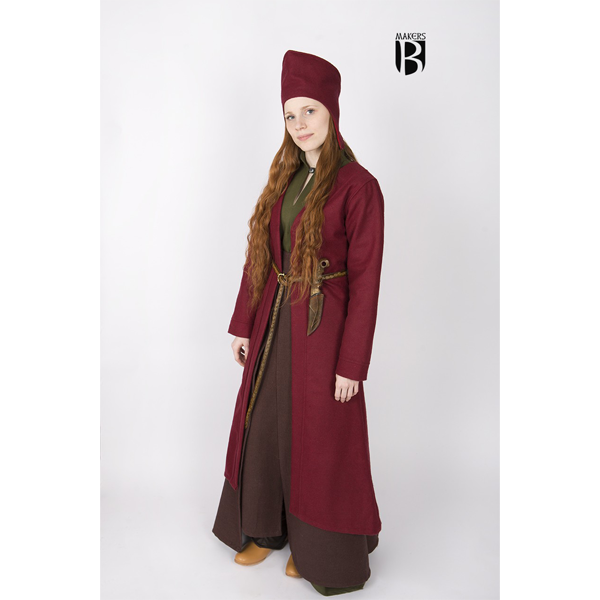 Birka Coat Aslaug Red 3