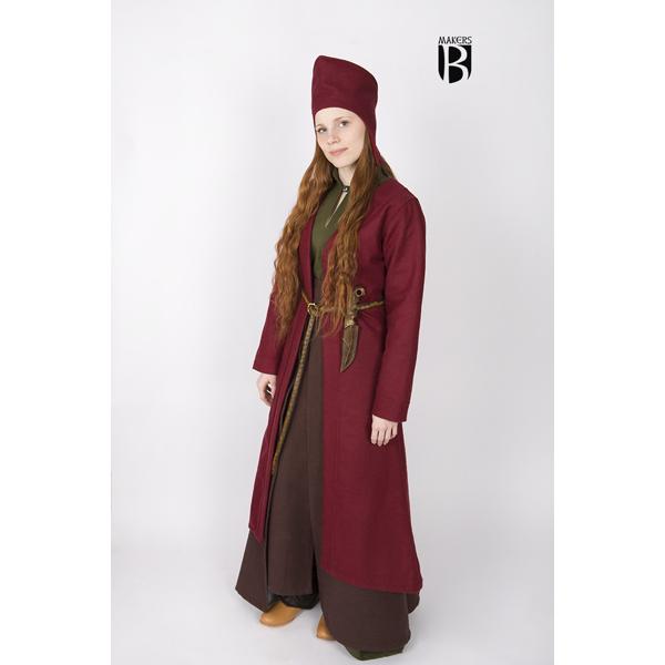 Birka Coat Aslaug Red 3