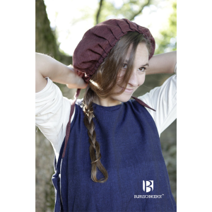 Medieval Bonnet Anna – Ideal For LARP, SCA and Costume