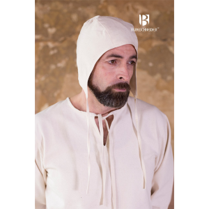 Medieval Coif Bertram – Ideal For LARP, SCA and Costume