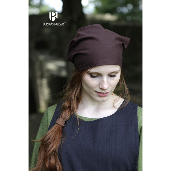 Head Scarfs Set Marianne Natural and Brown 2
