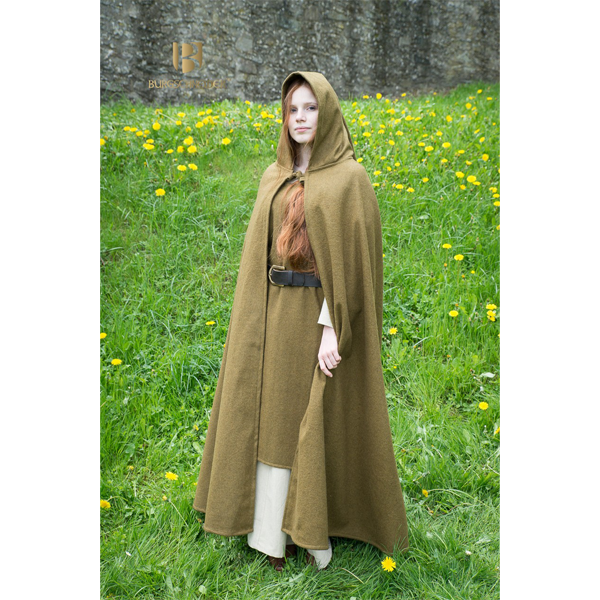 Hooded Cloak Hibernus Autumn Green 1