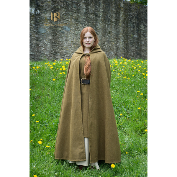 Hooded Cloak Hibernus Autumn Green 3