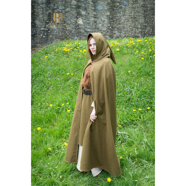 Hooded Cloak Hibernus Autumn Green 4