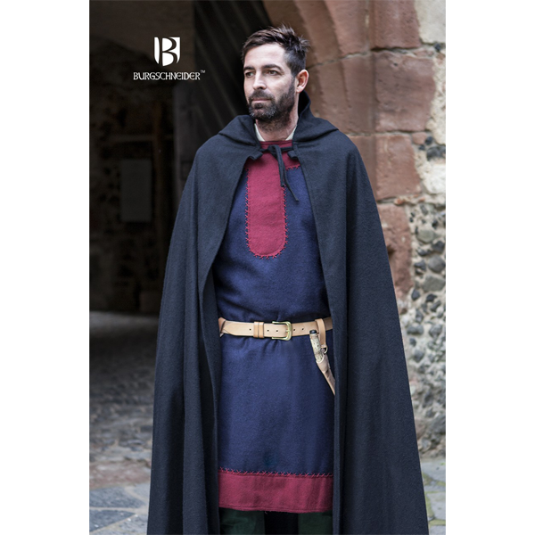 Hooded Cloak Hibernus Black 2