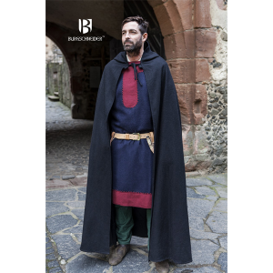 Hooded Cloak Hibernus – Ideal For LARP, SCA and Costume