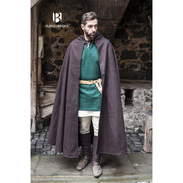 Hooded Cloak Hibernus Brown 1