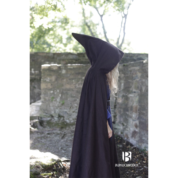 Hooded Cloak Hibernus Brown 4