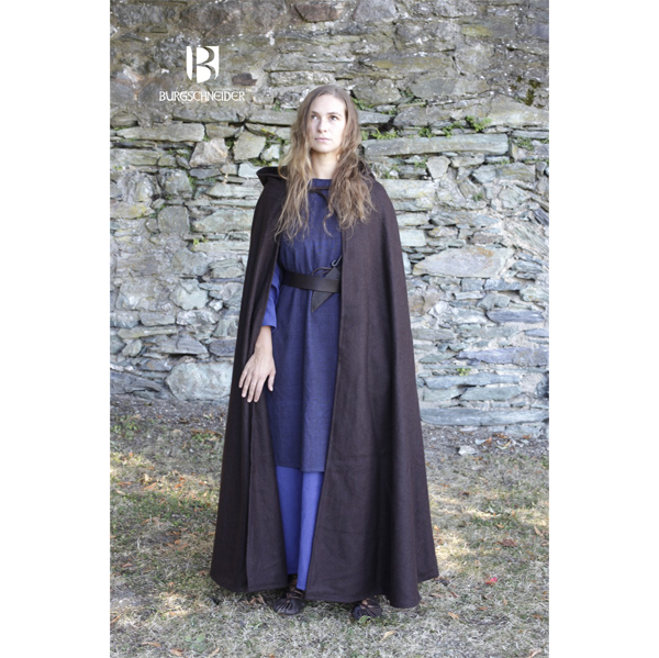 Hooded Cloak Hibernus Brown 5
