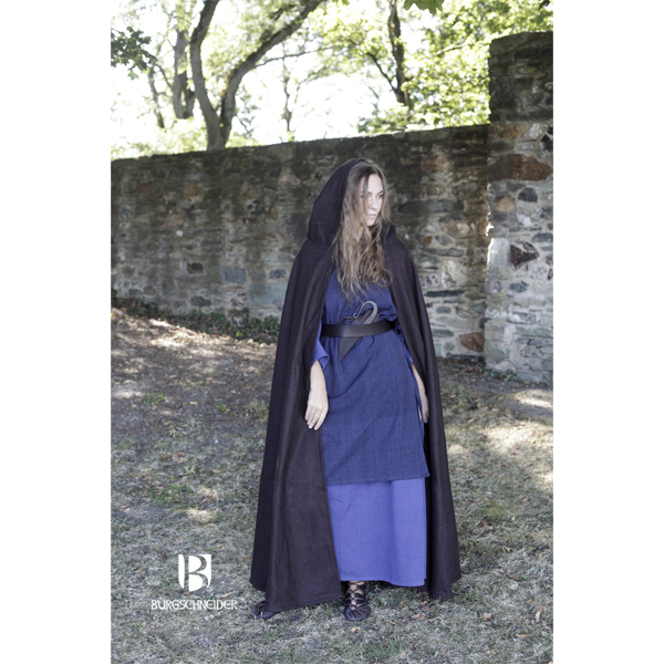 Hooded Cloak Hibernus Brown 7