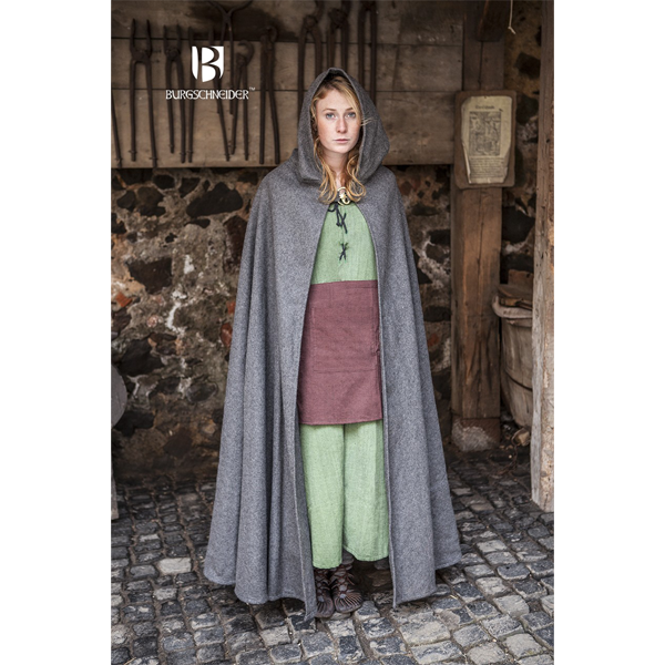 Hooded Cloak Hibernus Grey 1