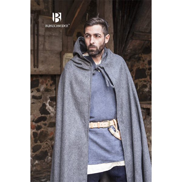 Hooded Cloak Hibernus Grey 2
