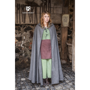 Hooded Cloak Hibernus – Ideal For LARP, SCA and Costume