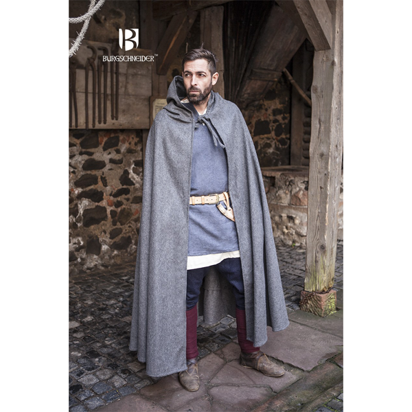 Hooded Cloak Hibernus Grey 4