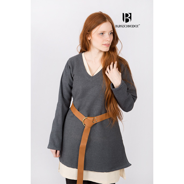 Short Tunic Frekja Grey 1