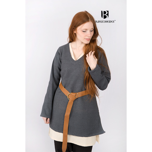 Short Tunic Frekja Grey 3