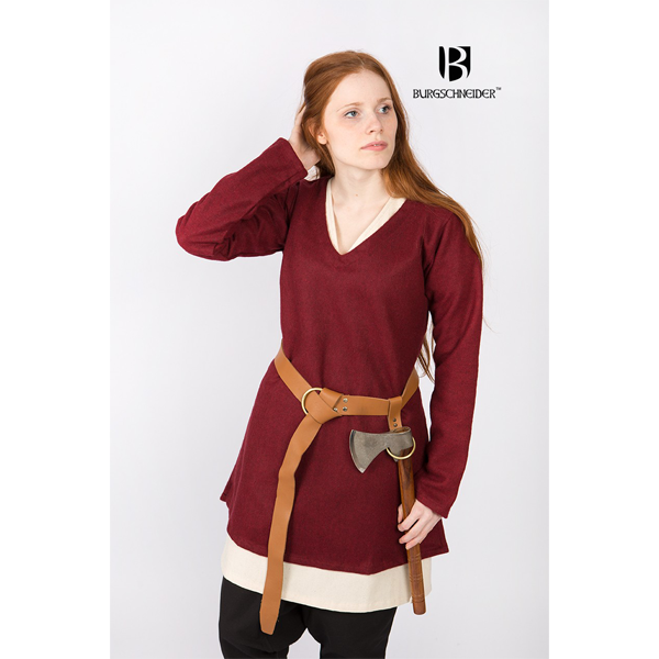 Short Tunic Hyria Red 1