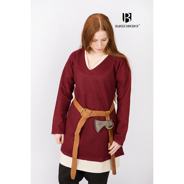 Short Tunic Hyria Red 2