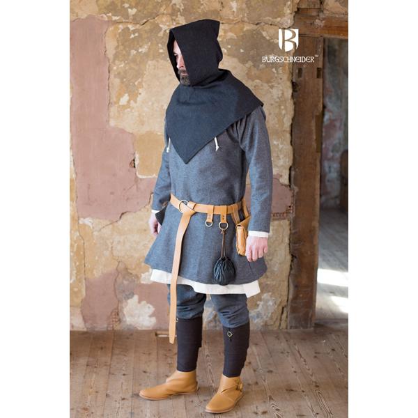 Skjoldehamn Hood Knud Black Grey 3