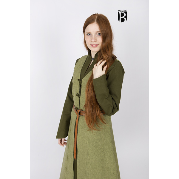 Sleeveless Coat Maiva Linden Green 2