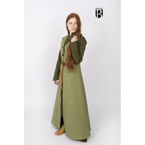 Sleeveless Coat Maiva Linden Green 3