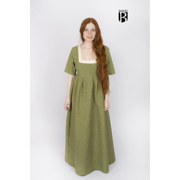 Women's Dress Frideswinde linden green 1