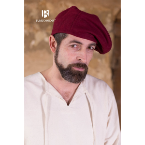 Wool Beret Harald – Ideal For LARP, SCA and Costume