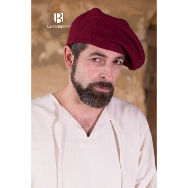 Wool Beret Harald Red 1