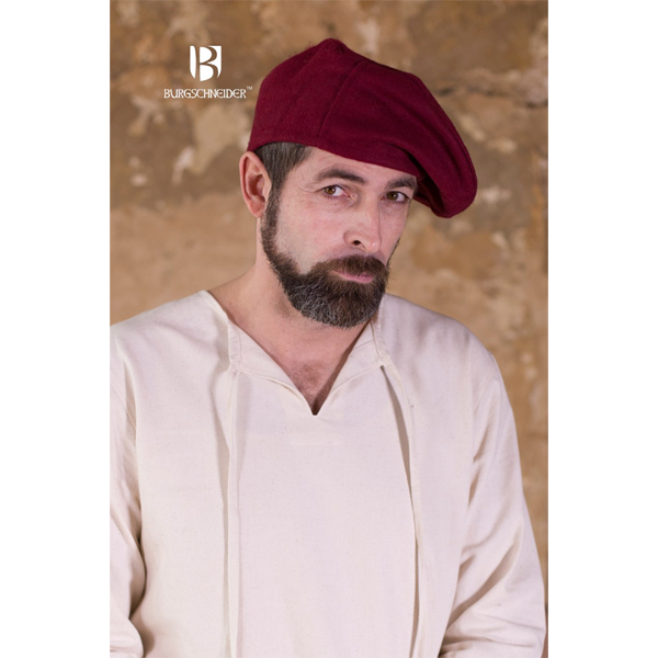 Wool Beret Harald Red 3