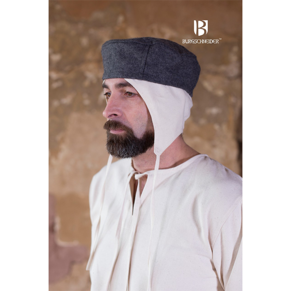 Wool Cap Hugo Grey 3