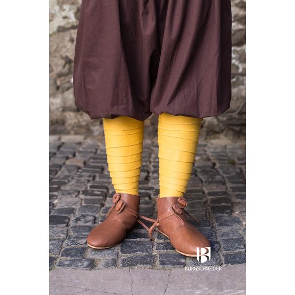Wool Puttee Aki Yellow 1