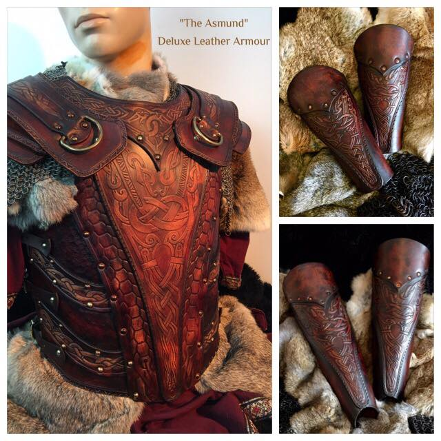 Asmund Deluxe LARP Leather Armour
